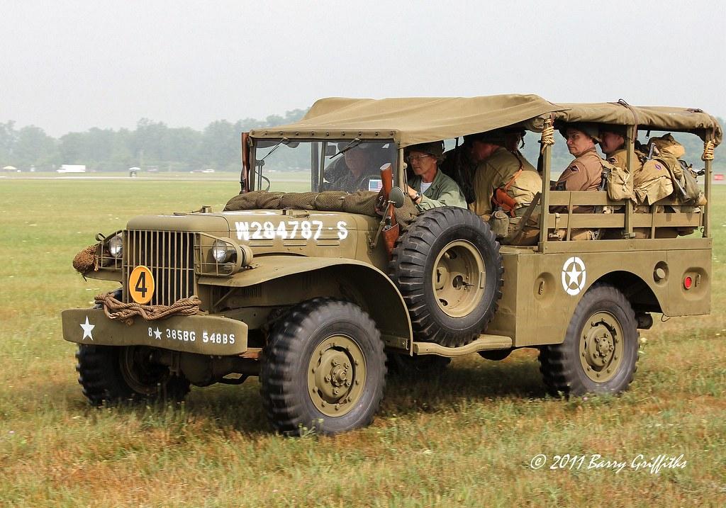 Dodge WC-51 Series Cargo Truck 3/4 ton 4x4 US Army WW II V… | Flickr