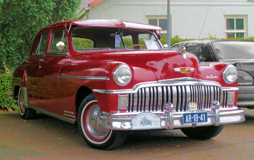 Chrysler >> 1949 DeSoto Custom Sedan | technische gegevens: Motor: 6-cil… | Flickr