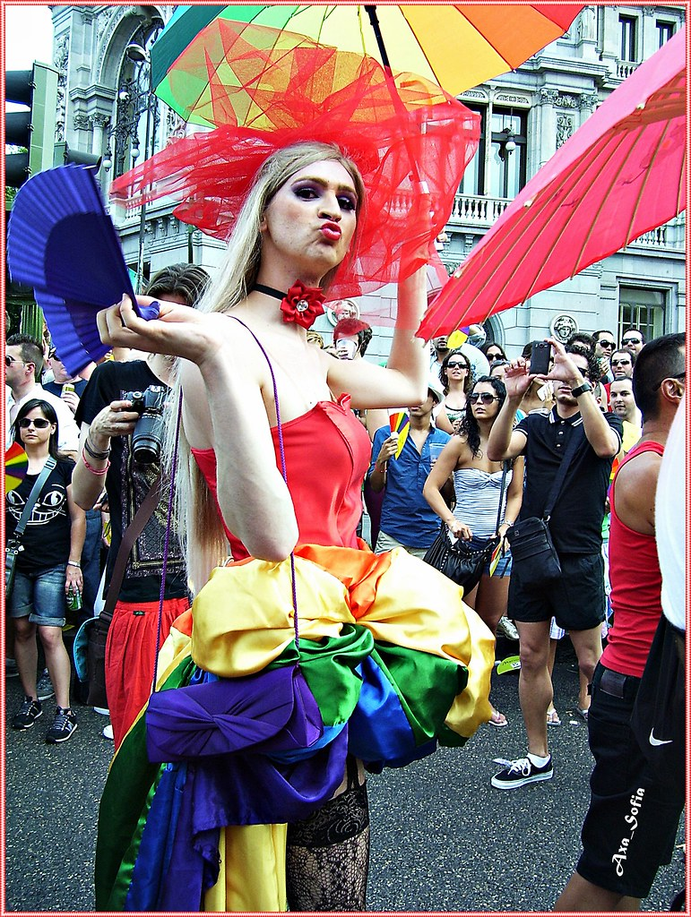 fiesta del orgullo gay en madrid gay pride festival in m