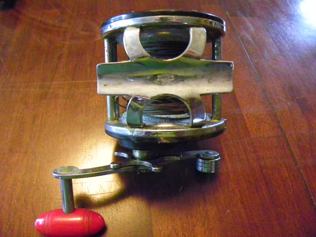 Antique Fishing Equipment : Grizzly garage sale antique fishing equipment finds flickr