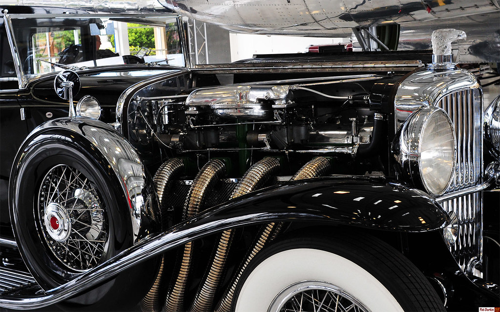 1930 Duesenberg Model Sj Murphy Town Car Black Superch