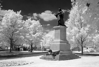 IR Queen Victoria in Victoria Park, Kitchener | by Lone Primate