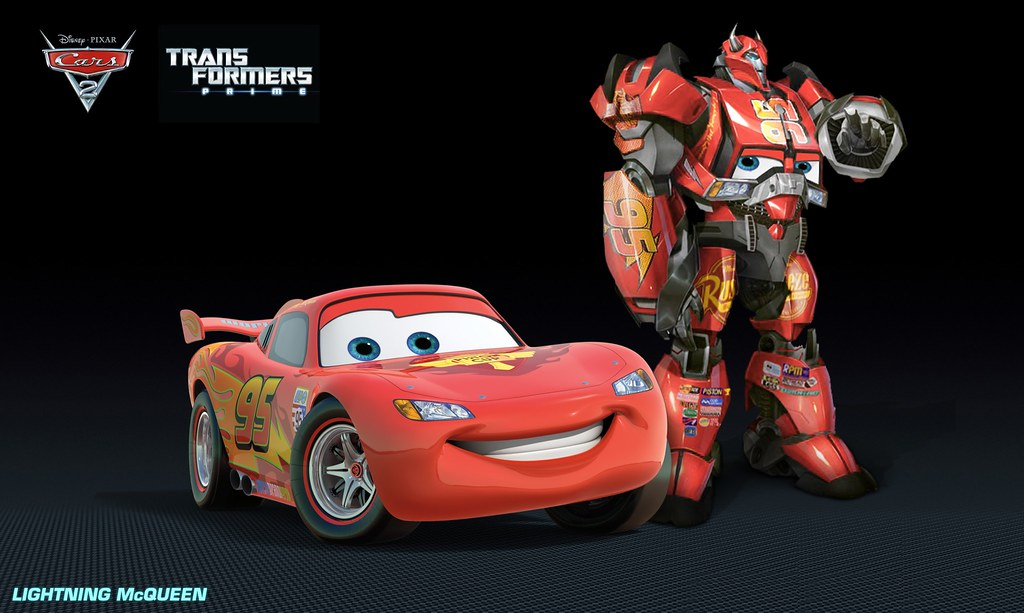 Lightning McQueen Alt Mode : Cars 2 wouldu0026#39;ve been way more au2026 : Flickr