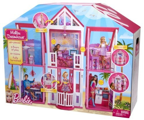 Barbie Malibu Dreamhouse 2011 Box When Will This Be