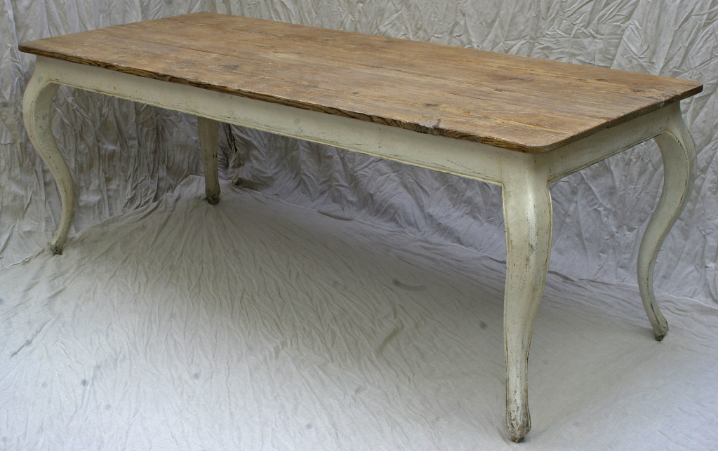 Bon ... 420 IMG_7665efr Custom Furniture Local Handmade Portland Oregon French  Country Cabriole Dining Table Antique Finish