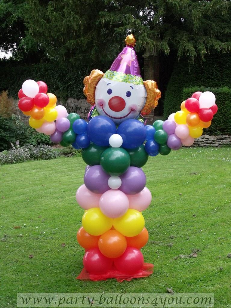 Clown Balloon Decorations