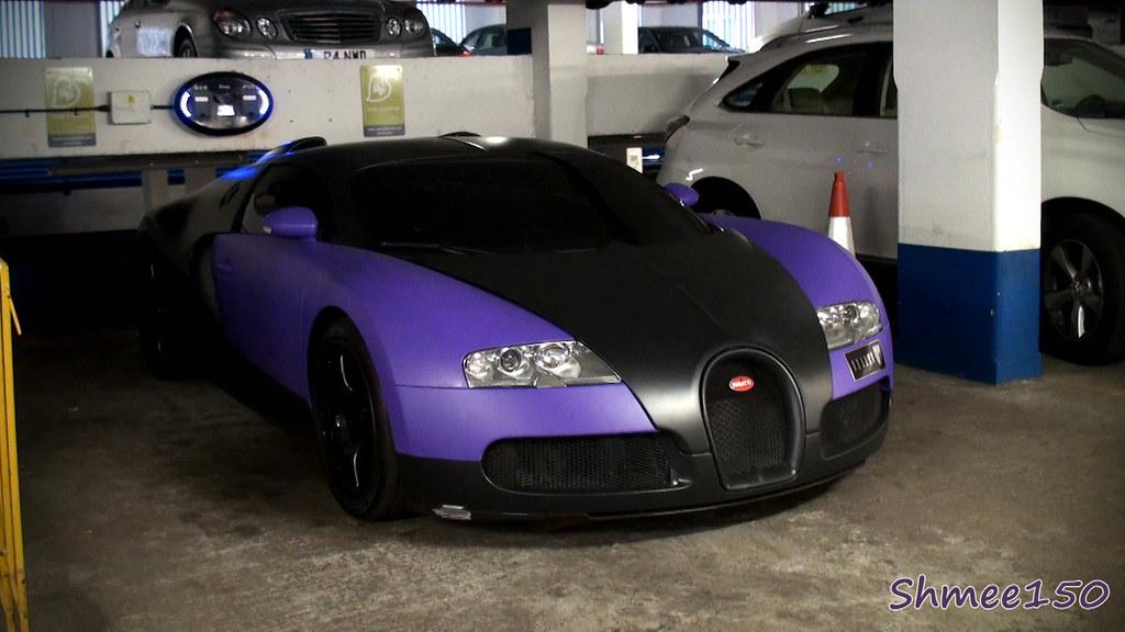 matte purple bugatti veyron matte purple bugatti veyron in flickr. Black Bedroom Furniture Sets. Home Design Ideas