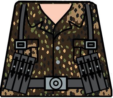 Waffen Ss Mp40 44 Dot Pattern Made Using Roaglaan