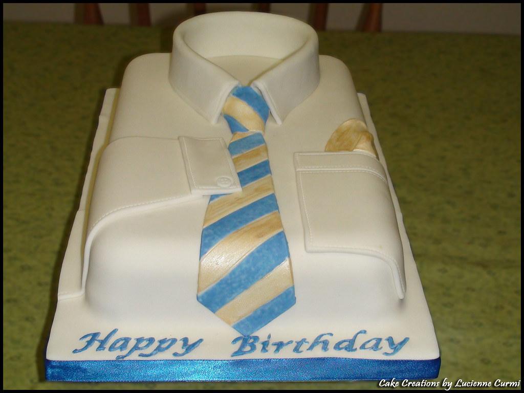 Shirt Birthday Cake Lucienne Curmi Flickr