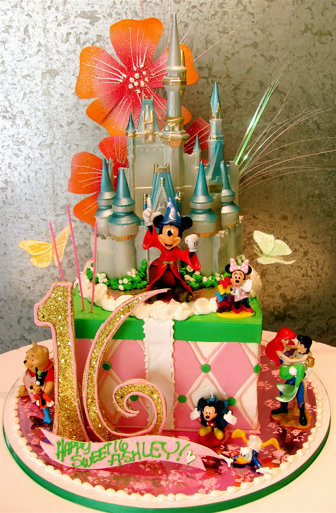 Disney Characters Cake Decorations
