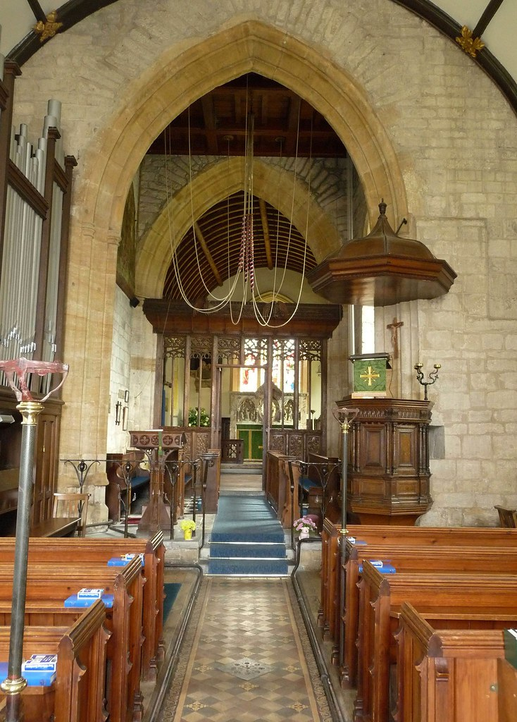 Parish Church of St Stephen interior