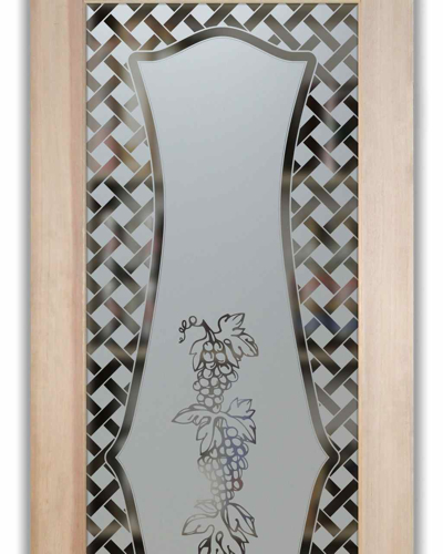 Glass Pantry Door With Frosted Glass Grapes Strand Latti Flickr