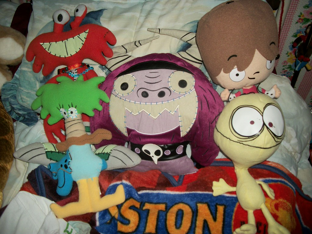 My Foster S Home For Imaginary Friends Plushies