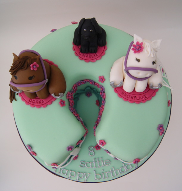 Pony Shaped Cake Pan