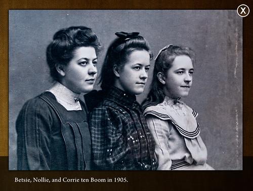 Betsie, Nollie, And Corrie Ten Boom In 1905