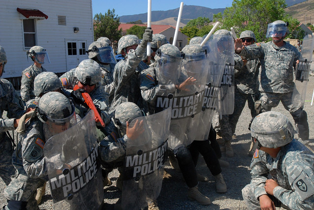 california national guard military police conduct law