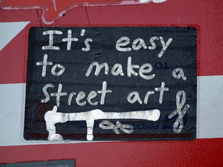 Curly: It's easy to make street art | by Alex Ellison