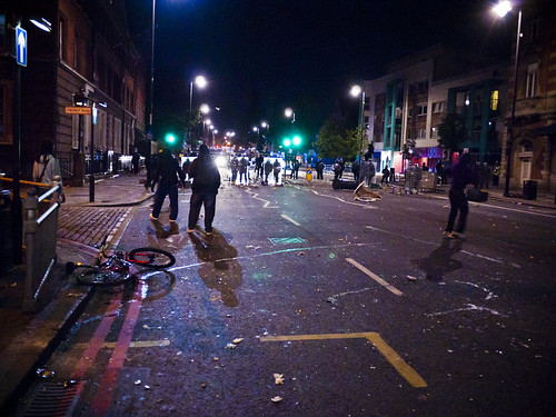 Police Line - Tottenham Riot - 6th August 2011 | by AndrewPage!