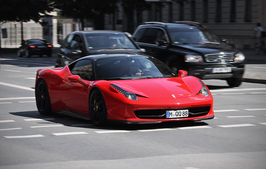 Modified Ferrari 458 Spider