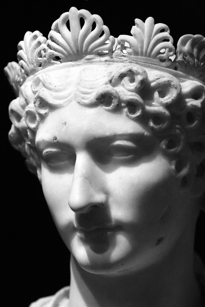 Agrippina The Younger Marble Bust Of A Roman Empress