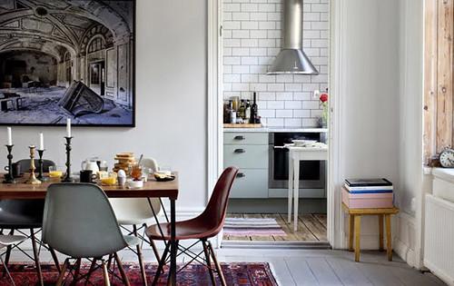 Innerstadsspecialisten Eclectic White Scandinavian Bohemi