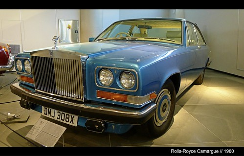 Very Rare // Rolls-Royce Camargue // Front View // 1980 // Only 531 produced // @ The Hellenic Motor Museum in Athens // Greece // Enjoy the Beauty Automobile Art! | by || UggBoy♥UggGirl || PHOTO || WORLD || TRAVEL ||