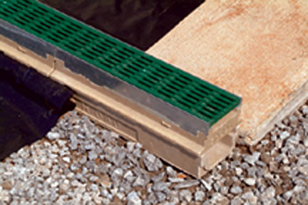 9837 Smith Aco Trench Drain Series Membrane Drain With