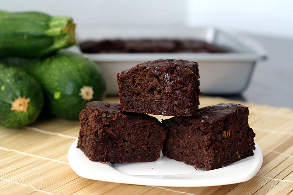 Double Chocolate Zucchini Brownies | Double Chocolate Zucchi ...