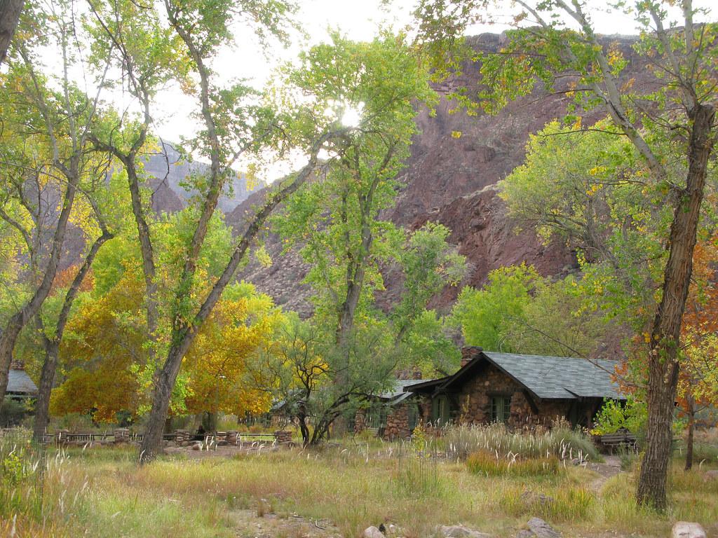 Grand Canyon Phantom Ranch 0632 Phantom Ranch At The