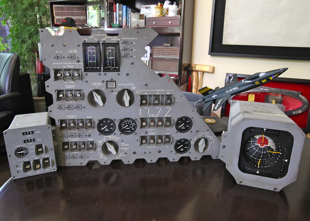 Early Apollo Instrument Panels