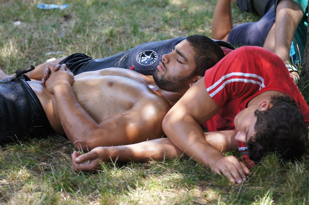 Men Oil Wrestling 71