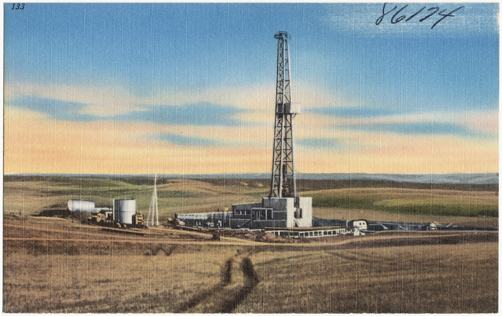 In North Dakota's oil patch, a humbling comedown