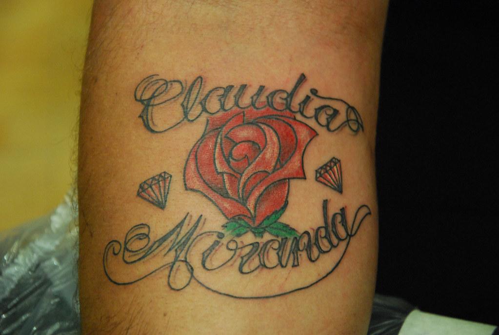Tattoo nombre claudia miranda tattoos de nombres www - Tattoo chiffre ...
