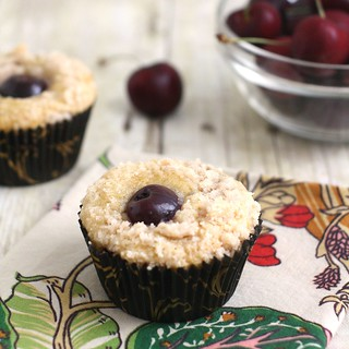Cherry Crumb Muffins | by Tracey's Culinary Adventures