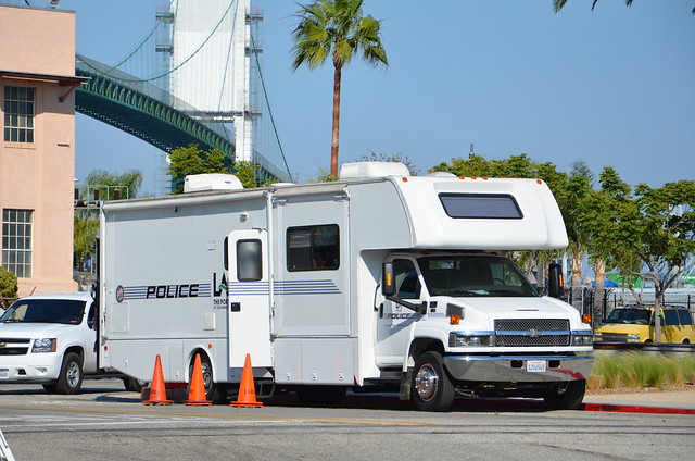 Los angeles port police department chevy command vehicle for La port police
