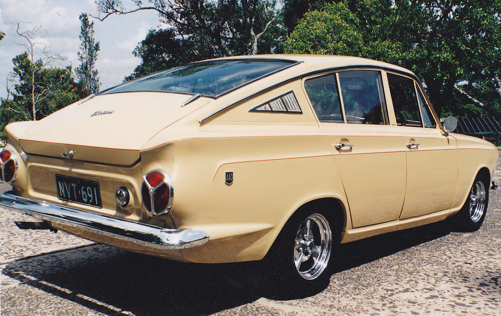 1966 Ford Cortina Fastback In 1966 The Geelong