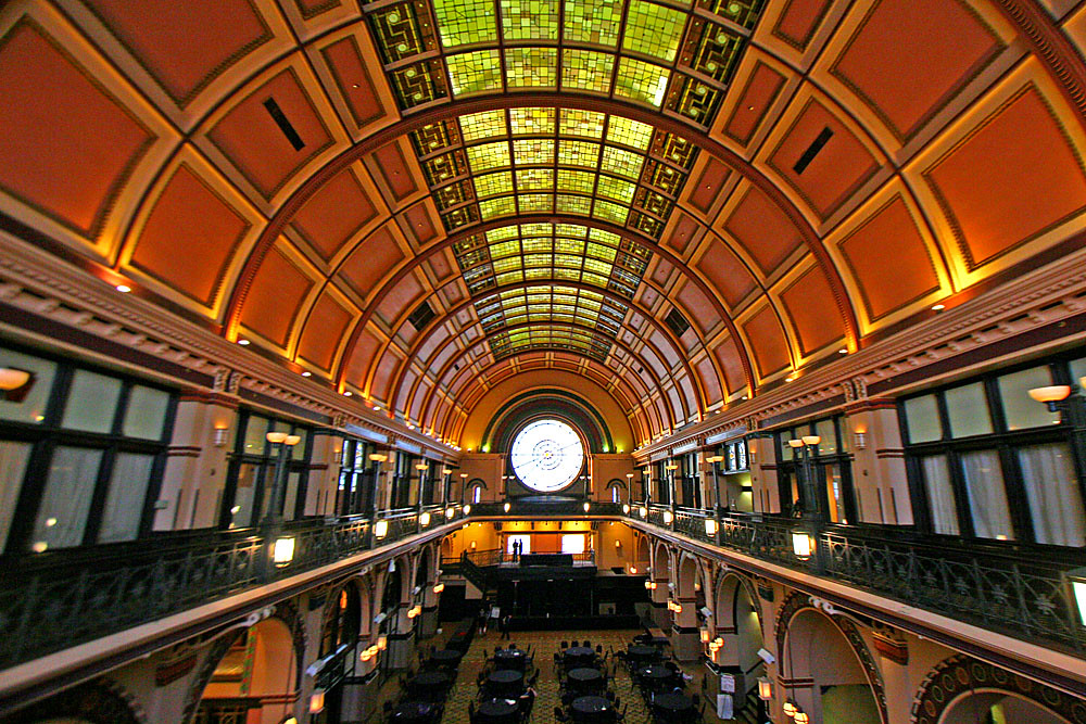 Grand Hall In Indianapolis Union Station The Cavernous