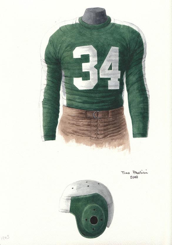 Pittsburgh Steelers Aka Phil Pitt Steagles 1943 Uniform Ar