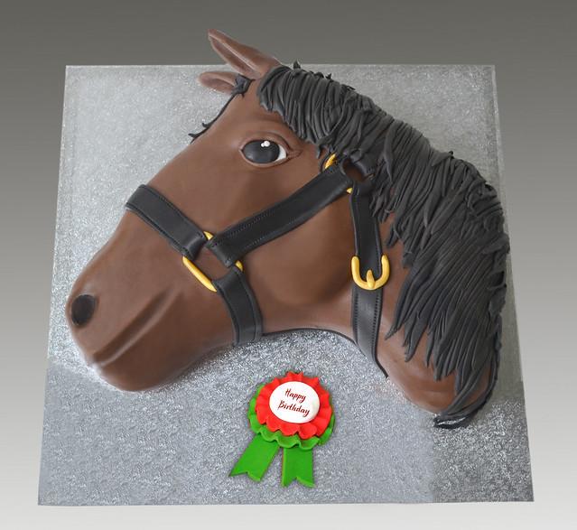 Horse Head Cake Design : Horse Head Cake Flickr - Photo Sharing!