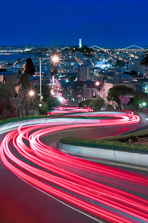 Lights of Lombard, SF, Ca | by Jared Ropelato