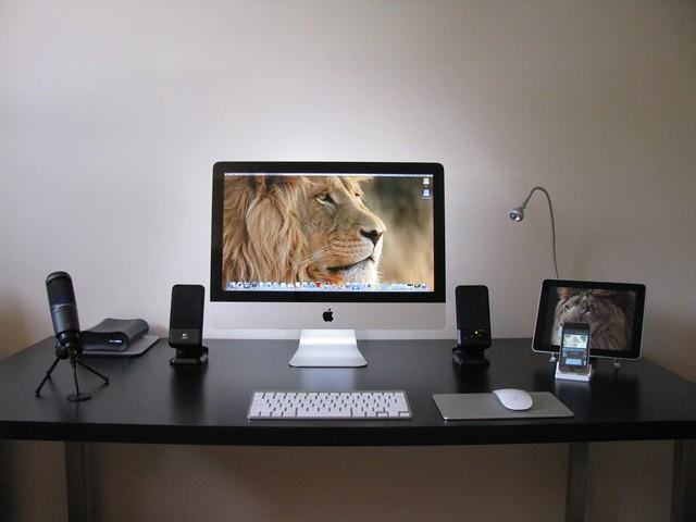 Imac Ikea Desk Flickr Photo Sharing