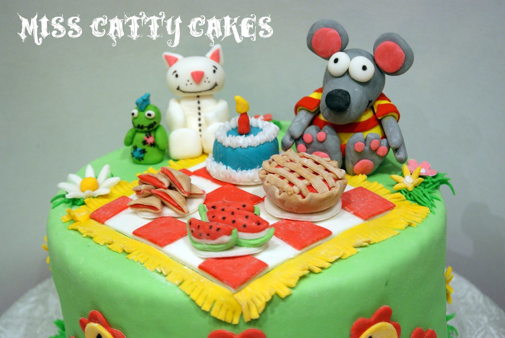 Toopy and Binoo Cake Miss Catty Cakes Cake Design Flickr