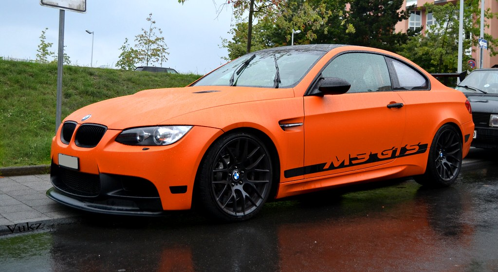 G Power Bmw M3 Gts In Matte Orange Extremly Rare Car