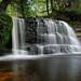 """Rock River Falls""  Rock River Wilderness Area - Near Chatham , Michigan"