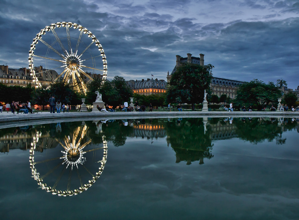 Jardin des tuileries paris france kyle slattery flickr for Jardin je france