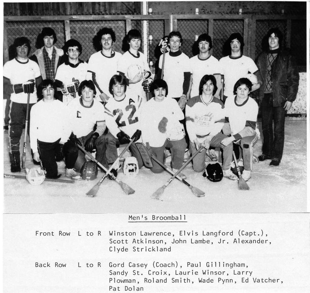 Coach Larry Wade Sweater: Front Row: L To R - Winston
