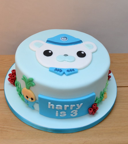 Homemade Octonauts Cake