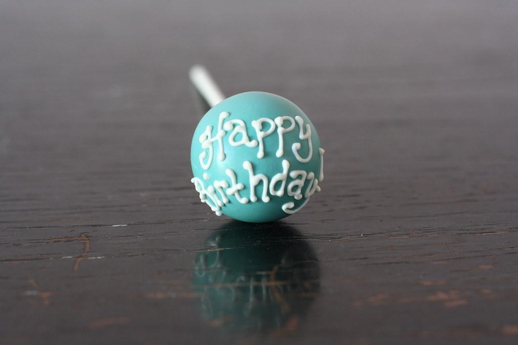Happy Birthday Cake Pop Happy Birthday Cake Pop Flickr