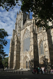 Sun shine at last, York Minster | by pinkfootpat catching up
