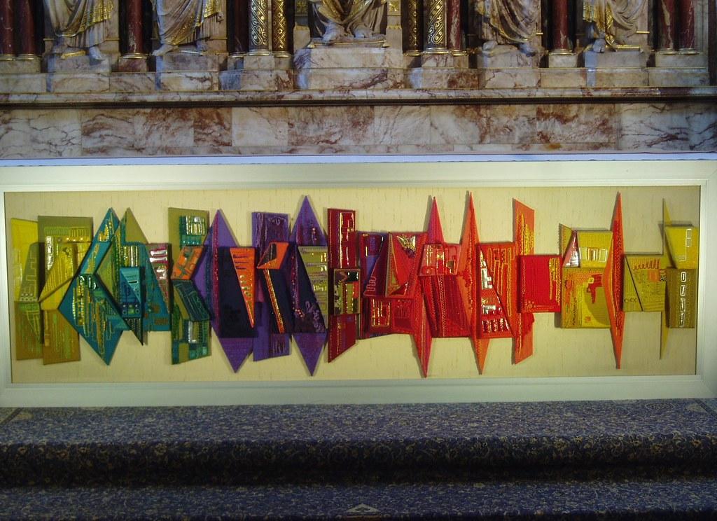 Altar Frontal Worcester Cathedral Modern Altar Frontal